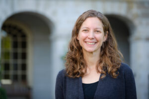 Wake Forest sociology professor Catherine Harnois